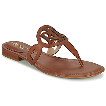kengät Naiset Sandaalit ja avokkaat Lauren Ralph Lauren AUDRIE Konjakki