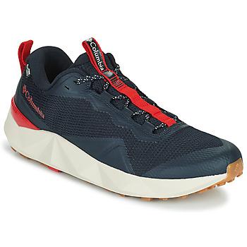 kengät Miehet Vaelluskengät Columbia FACET 15 OD Musta / Punainen