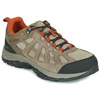 kengät Miehet Vaelluskengät Columbia REDMOND III WATERPROOF Ruskea