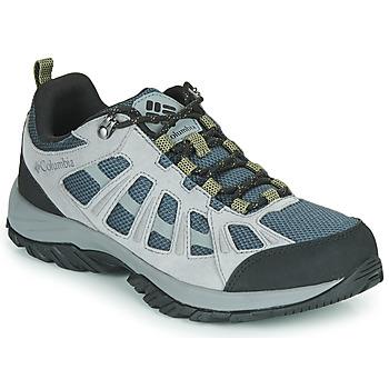 kengät Miehet Vaelluskengät Columbia REDMOND III Harmaa