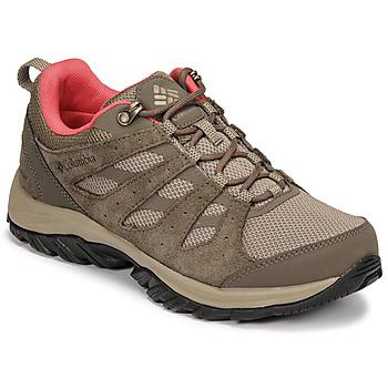 kengät Naiset Vaelluskengät Columbia REDMOND III WATERPROOF Ruskea