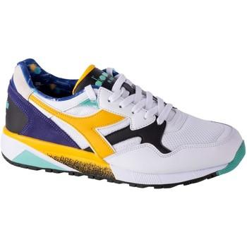 kengät Miehet Matalavartiset tennarit Diadora N9002 Kromadecka Valkoiset, Vaaleansiniset, Keltaiset
