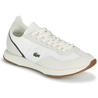 kengät Miehet Matalavartiset tennarit Lacoste MATCH BREAK 0721 1 SMA Beige / Green