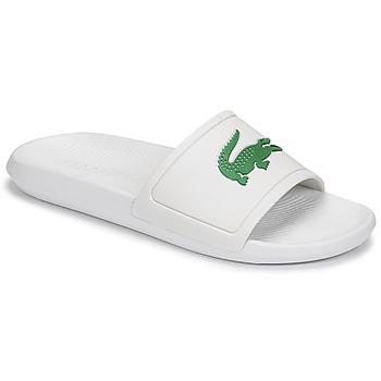 kengät Miehet Rantasandaalit Lacoste CROCO SLIDE 119 1 CMA Valkoinen / Vihreä