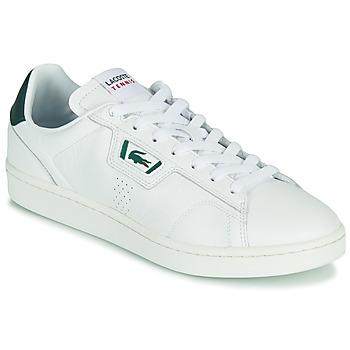 kengät Miehet Matalavartiset tennarit Lacoste MASTERS CLASSIC 07211 SMA Valkoinen / Vihreä