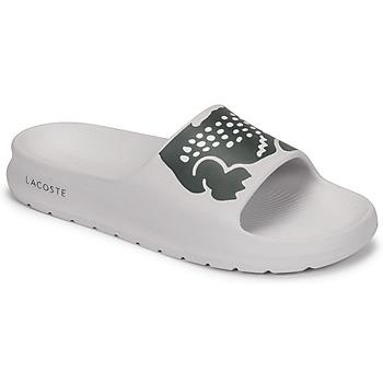 kengät Naiset Rantasandaalit Lacoste CROCO 2.0 0721 1 CFA Valkoinen / Musta