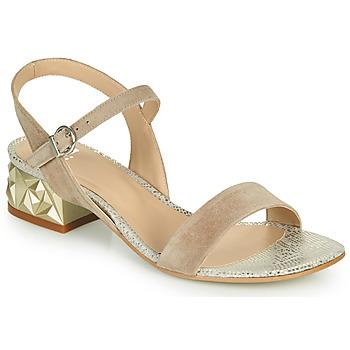 kengät Naiset Sandaalit ja avokkaat Perlato 11817-CAM-FREJE-STONE Beige / Kulta