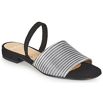 kengät Naiset Sandaalit ja avokkaat Perlato 11117-YORK-ARGENT-CAM-NOIR Musta / Hopea