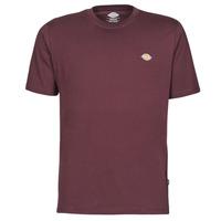vaatteet Miehet Lyhythihainen t-paita Dickies MAPLETON Viininpunainen