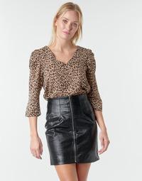 vaatteet Naiset Topit / Puserot Moony Mood NOULIETTE Beige / Ruskea