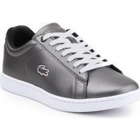 kengät Naiset Matalavartiset tennarit Lacoste Carnaby Evo 317 7-34SPW0010024 silver
