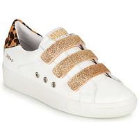 kengät Naiset Matalavartiset tennarit Semerdjian GARBIS Valkoinen / Kulta