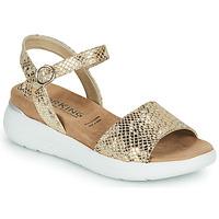 kengät Naiset Sandaalit ja avokkaat Dorking ROCK Kulta
