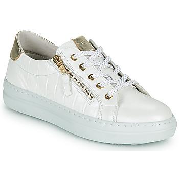 kengät Naiset Matalavartiset tennarit Dorking VIP Valkoinen / Hopea