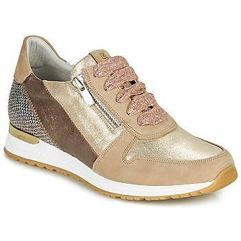 kengät Naiset Matalavartiset tennarit Dorking VIOLA Kulta