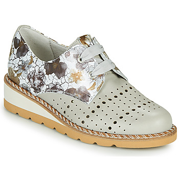 kengät Naiset Derby-kengät Dorking TETRIS Harmaa