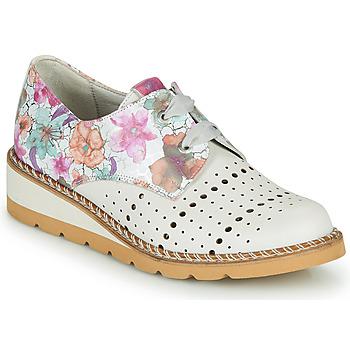 kengät Naiset Derby-kengät Dorking TETRIS Valkoinen / Monivärinen