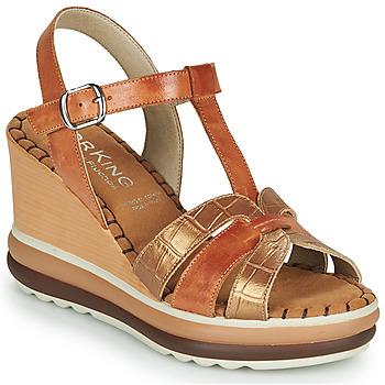 kengät Naiset Sandaalit ja avokkaat Dorking TOTEM Ruskea