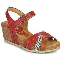 kengät Naiset Sandaalit ja avokkaat Dorking PALMA Punainen