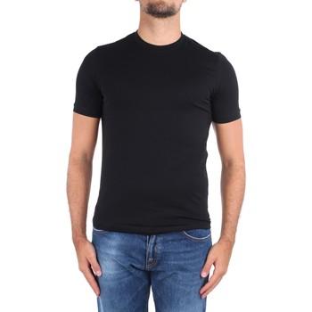 vaatteet Miehet Lyhythihainen t-paita Cruciani CUJOSB G30 No Colour