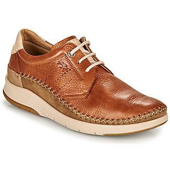 kengät Miehet Matalavartiset tennarit Fluchos 0795-TORNADO-CUERO Ruskea