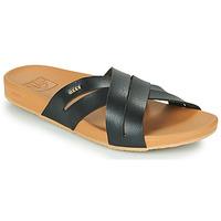 kengät Naiset Rantasandaalit Reef CUSHION SPRING BLOOM Musta