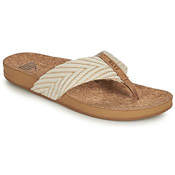 kengät Naiset Varvassandaalit Reef REEF CUSHION STRAND Valkoinen