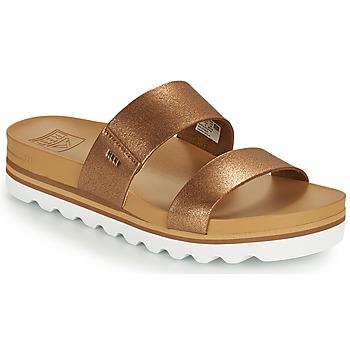 kengät Naiset Rantasandaalit Reef CUSHION VISTA HI Ruskea