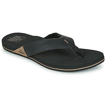 kengät Miehet Varvassandaalit Reef REEF NEWPORT Musta