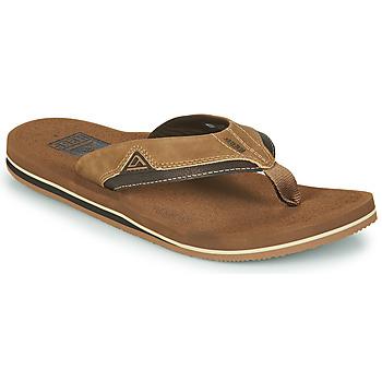 kengät Miehet Varvassandaalit Reef CUSHION DAWN Ruskea
