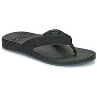 kengät Miehet Varvassandaalit Reef CUSHION SPRING Musta