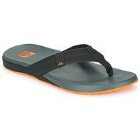 kengät Miehet Varvassandaalit Reef CUSHION PHANTOM Musta / Oranssi