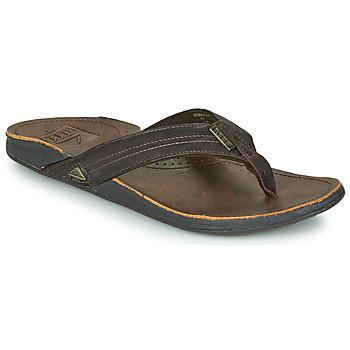 kengät Miehet Varvassandaalit Reef REEF J-BAY III Ruskea