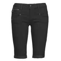 vaatteet Naiset Shortsit / Bermuda-shortsit Freeman T.Porter BELIXA Musta