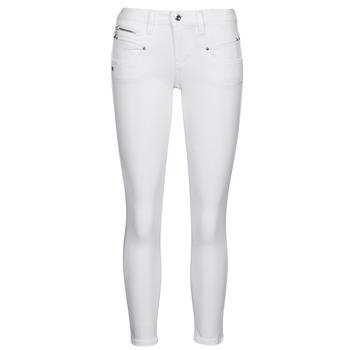 vaatteet Naiset 5-taskuiset housut Freeman T.Porter ALEXA CROPPED S-SDM Valkoinen