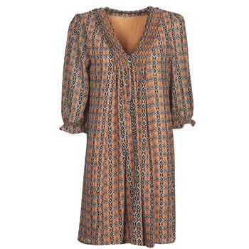 vaatteet Naiset Lyhyt mekko Freeman T.Porter JUNA SAMBA Oranssi