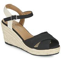 kengät Naiset Sandaalit ja avokkaat Tom Tailor NOUMI Musta