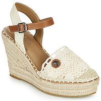 kengät Naiset Sandaalit ja avokkaat Tom Tailor DEB Creme
