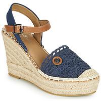 kengät Naiset Sandaalit ja avokkaat Tom Tailor DEB Laivastonsininen
