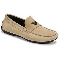 kengät Miehet Mokkasiinit Emporio Armani ITOLIA Beige