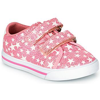 kengät Tytöt Matalavartiset tennarit Chicco FIORENZA Vaaleanpunainen