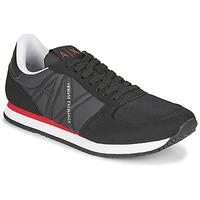 kengät Miehet Matalavartiset tennarit Armani Exchange ESPACIA Musta / Punainen