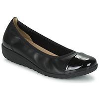 kengät Naiset Balleriinat Caprice 22103-026 Musta