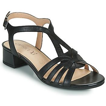 kengät Naiset Sandaalit ja avokkaat Caprice 28201-022 Musta