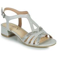 kengät Naiset Sandaalit ja avokkaat Caprice 28201-233 Beige