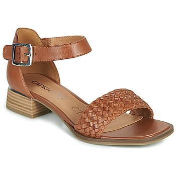 kengät Naiset Sandaalit ja avokkaat Caprice 28208-303 Konjakki