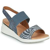 kengät Naiset Sandaalit ja avokkaat Caprice 28306-849 Harmaa
