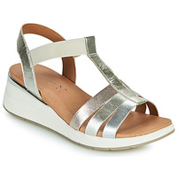 kengät Naiset Sandaalit ja avokkaat Caprice 28308-970 Hopea
