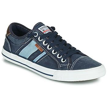 kengät Miehet Matalavartiset tennarit Dockers by Gerli 42JZ004-670 Sininen