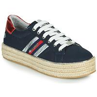 kengät Naiset Matalavartiset tennarit Dockers by Gerli 46GV202-660 Sininen